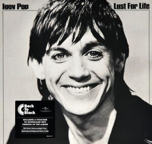 IGGY-POP-Lust-For-Life-2017-9-track-heavyweight-180g-vinyl-LP-album-MP3-NEW