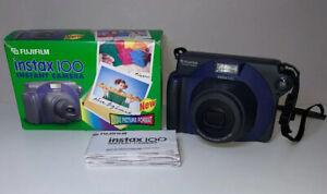 Fujifilm-Instax-100-Instant-Film-Camera-Retro-With-Box-And-Instructions