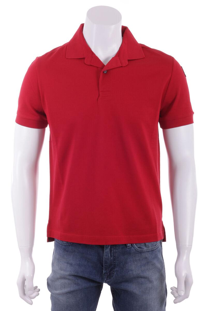 BALLANTYNE Maglia Maglietta Polo Uomo Uomo Rosso Red