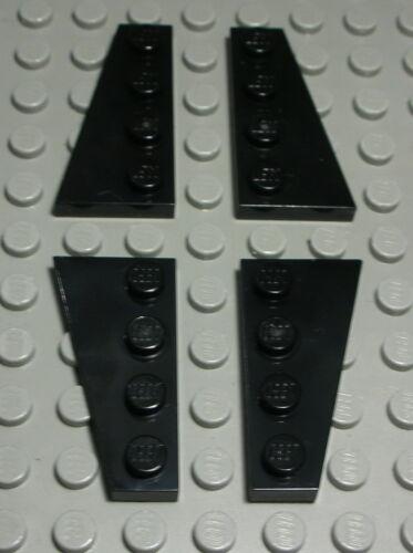 614 Lego Platte schräg 2x4 Schwarz