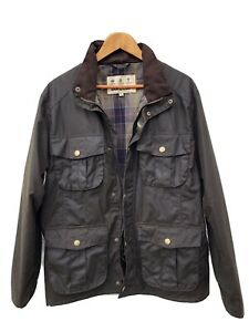 Barbour-Wax-Utility-Jacket-New-Without-Tags-Men-s-Size-Medium-RRP-219