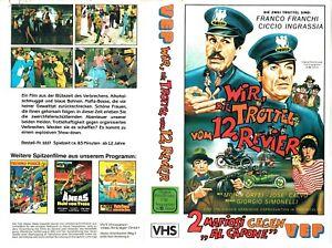 VHS-Wir-die-Trottel-vom-12-Revier-Franco-Franchi-Ciccio-Ingrassia-1965