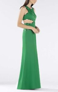 NEW-BCBG-MAXAZRIA-NIKKOLE-SLEEVELESS-SIDE-CUTOUT-GOWN-XVR64D41-L509-SZ-4