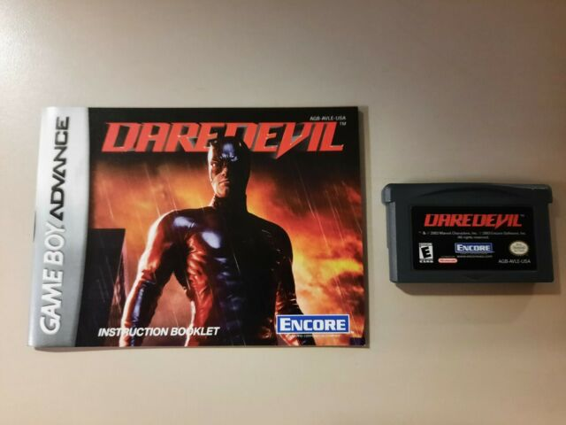 Daredevil (Nintendo Game Boy Advance, 2003) With Manual