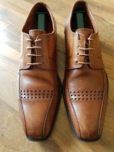 Austin Reed Gents Shoes In Natural Leather Size 8uk Cost 140 Ebay