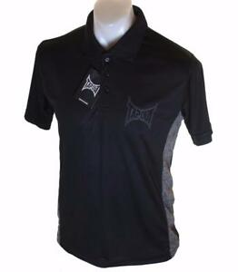 c4b2b03b Bnwt Authentic Men's Tapout Short Sleeve Polo Shirt New Black MMA ...