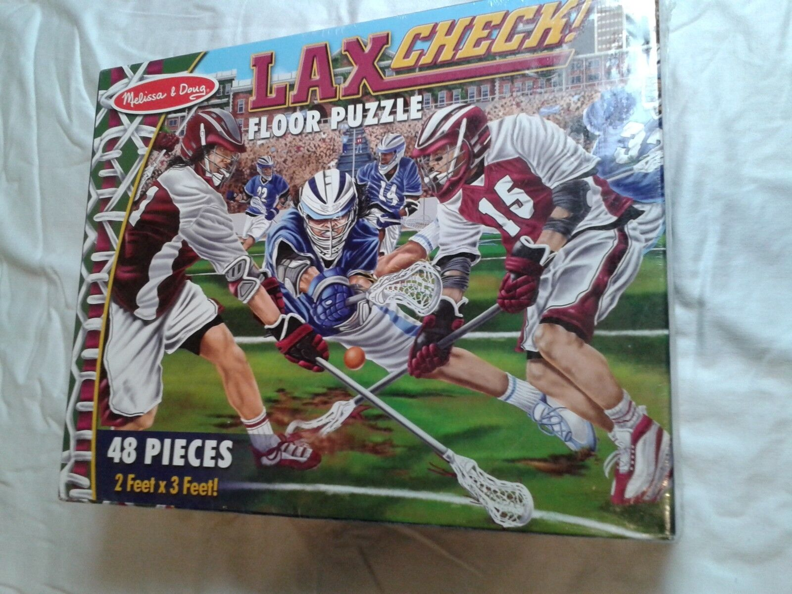 Melissa & Doug Lax carreaux  Floor Puzzle New in Box