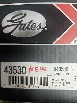 Engine Water Pump-Water Pump Standard Gates 43064