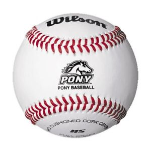 Wilson Pony League SST Baseballs - Dozen