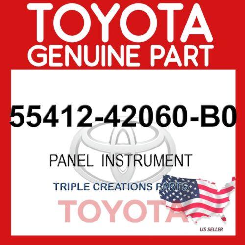 5541242060B0 GENUINE Toyota RAV4 PANEL INSTRUMENT 55412-42060-B0 OEM
