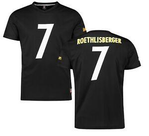 79a7be297 Pittsburgh Steelers Mesh NFL T Shirt Mens Large Majestic Jersey ...