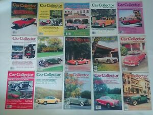 Car-Collector-And-Car-Classics-Magazine-Lot-Of-15-From-early-80-039-s