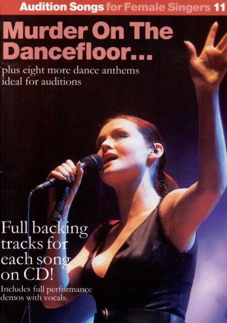 Murder On The Dancefloor Piano Vocal Guitar Pop Chart Music Book & CD ShopSoiled