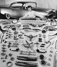 1 1955 Chevy BelAir Vintage Sport Car Rare Carousel GOLD 24k Metal Model 18 1957