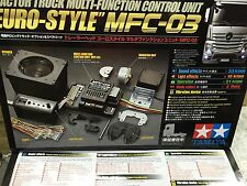 56523 TAMIYA R/C Tractor Truck Multi Function MFC-03 EuroStyle Control Unit 1/14