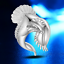 Fashion Women Lady 925 Silver Plated Eagle Design Open Ring Jewelry Adjustable