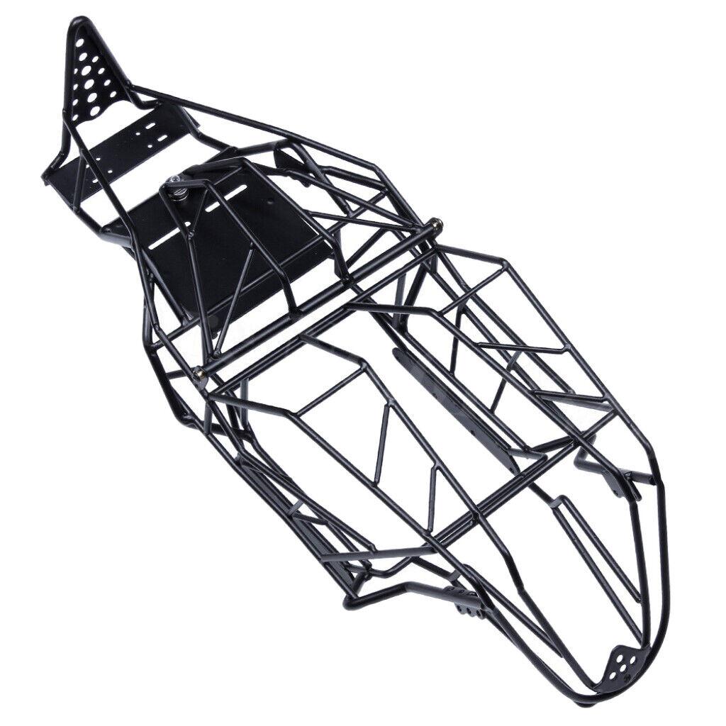 Metallo RC tramite Roll gabbia quadro per 1/10 assiale scxii 90018 ax90018 CAMION DIY