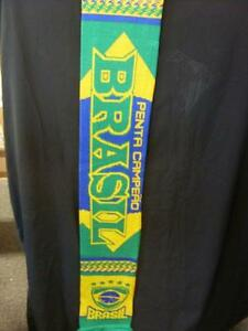 1990-2000-039-s-Brasil-Retro-Scarf-Superb-Quality-amp-Detail-Approx-48-034-Long-Produc