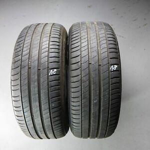 2x-Michelin-Primacy-3-AO-225-55-R17-97Y-DOT-0418-5-mm-Sommerreifen