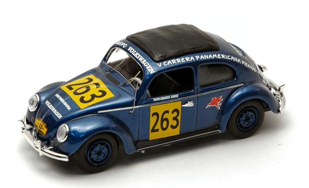 VOLKSWAGEN VW Beetle  263 Carrera Panamericana 1954 1 43 MODEL rio4198 Rio