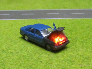 1-87-Mercedes-260-E-W124-H0-Motorbrand-LED-12V-Feuer-Laser-Cut-Patina-16