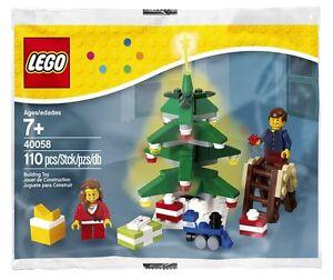 LEGO Seasonal Holiday Decorating the Tree