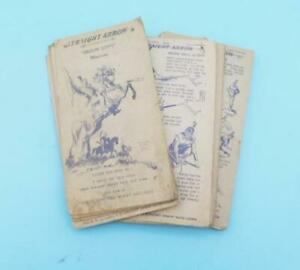 Nabisco Shredded Wheat Cereal Straight Arrow Injun-uity Cards Book 1 1949