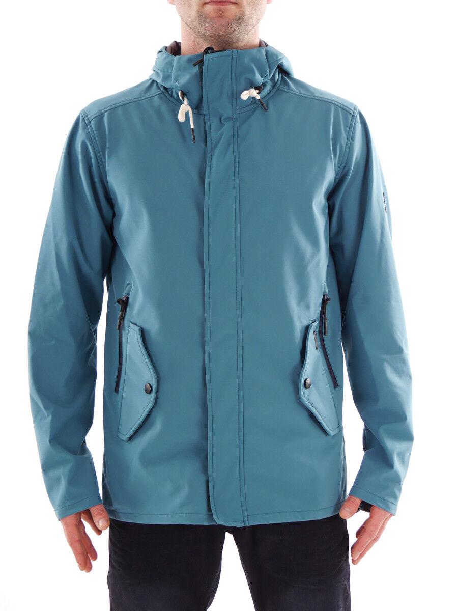 Brunotti Softshell chaqueta vellón verde tiempo libre chaqueta Montelupo zipp   ventas directas de fábrica