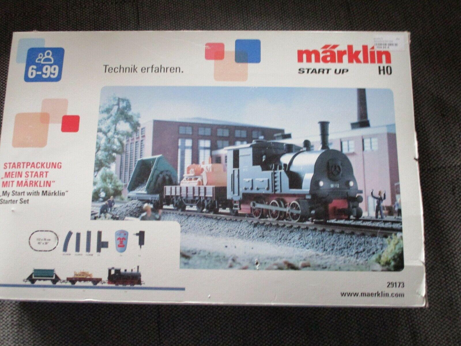 Märklin 29173, SterntVerpackungung Mit Güterzug für Spur H0.