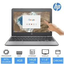 "HP Chromebook 11 G5 11.6"" Touchscreen Laptop Intel Dual Core, 4GB RAM, 16GB eMMC"