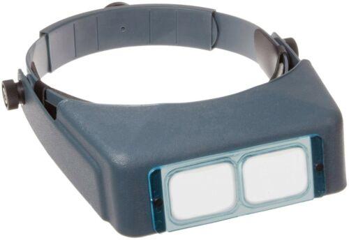 Donegan OptiVISOR Binocular Magnifier 2.5x at 8 Inch Hands Free Coin Inspection