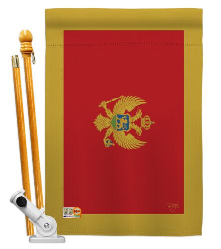 Details about  /Montenegro Garden Flag Regional Nationality Decorative Gift Yard House Banner