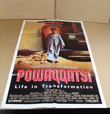 POWAQQATSI - Life in Transformation - Orig. Kinoplakat aus den 1980er J.   /S146