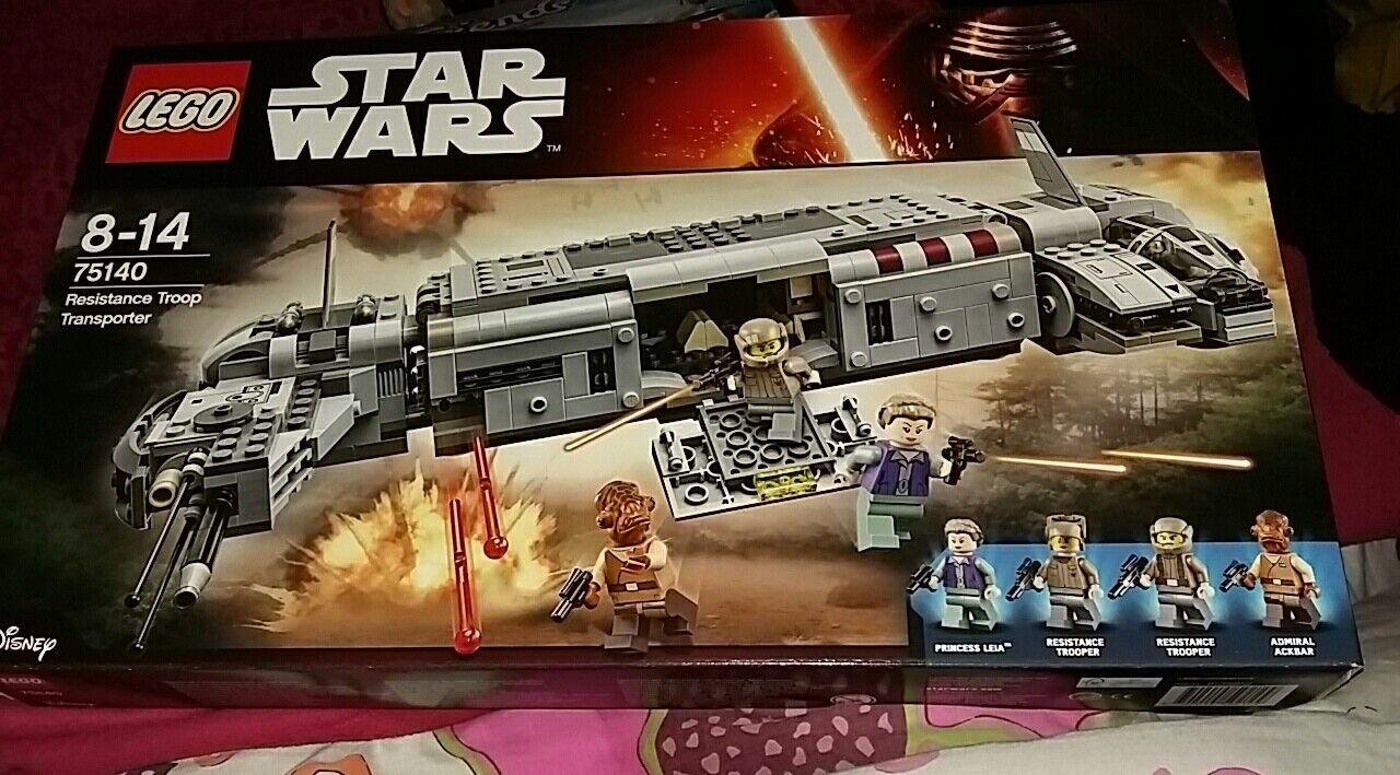 Lego 75140  Star Wars Résistance TROOP TRANSPORTER NEUF boîte scellée retraité  prix raisonnable