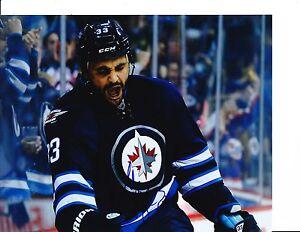 Winnipeg Jets Dustin Byfuglien Signed Goal Celebration 8x10 Ebay