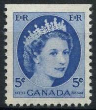 Canada 1954-62 SG#467, 5c QEII Definitive MNH Top Imperf #D6951