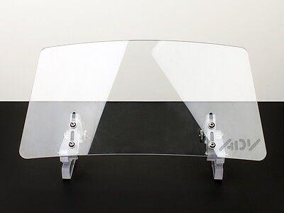 Wind screen deflector windshield windscreen ENDURO LARGE motorcycle motorbike