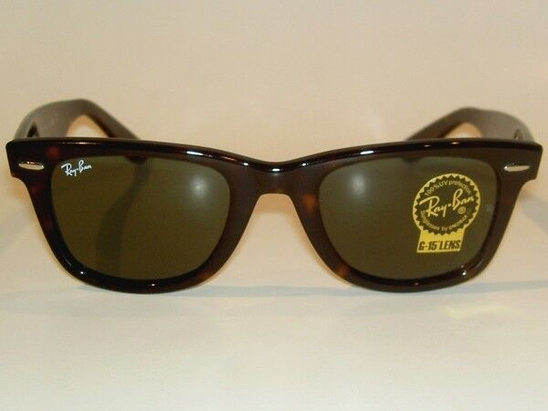 cf762f95b3 New RAY BAN Original WAYFARER Sunglasses Tortoise RB 2140F 902 G-15 Lenses  52mm