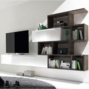 Mobile Parete Soggiorno Primo 03 sala soggiorno salotto studio | eBay