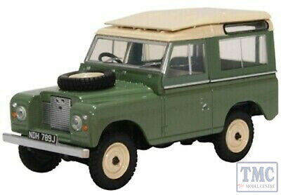 43lr2as003 Oxford Diecast Land Rover Series Iia Swb Station Wagon Pastel Green Pacchetto Elegante E Robusto