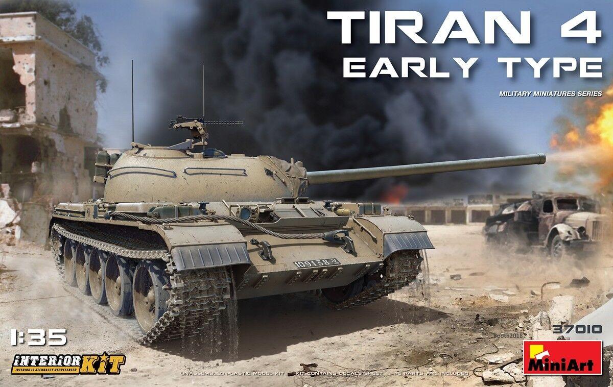 1 35 MINIART IDF TIRAN 4 EARLY TYPE (Interior Kit)
