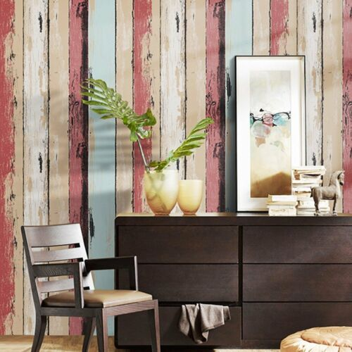 Wood Panel Pattern Contact Paper Self Adhesive Vinyl Peel and Stick Wallpaper