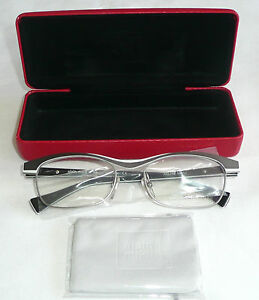 129a31f7bf6 Alain Mikli A01296 M0HJ Eyeglass Glasses Frames 53-18-140  New with ...