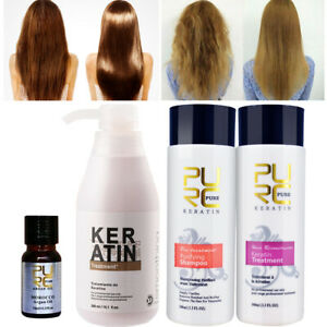 Brazilian Keratin Straightening Treatment Brazilian Shampoo Kit Hair Treatment Ebay