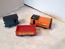 RUSTY THOMAS TRAIN TRACKMASTER ENGINE MATTEL MOTORIZED MCCOLLS FARM CAR LOT OF 3