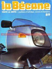 LA BECANE  89 Histoire PEUGEOT PATON Renzo PASOLINI Moto Cross de Gault-Perche