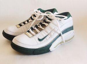 baloncesto Nwob 7 hombre para Nike Air talla Team White de Green Zapatillas 5 B7Fxfn5Ux