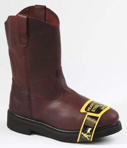 Rhino-90S22-Mens-Dark-Brown-STEEL-TOE-Leather-Work-Boots