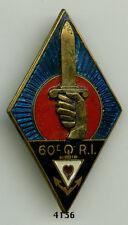 Insigne Infanterie , 60 RI.