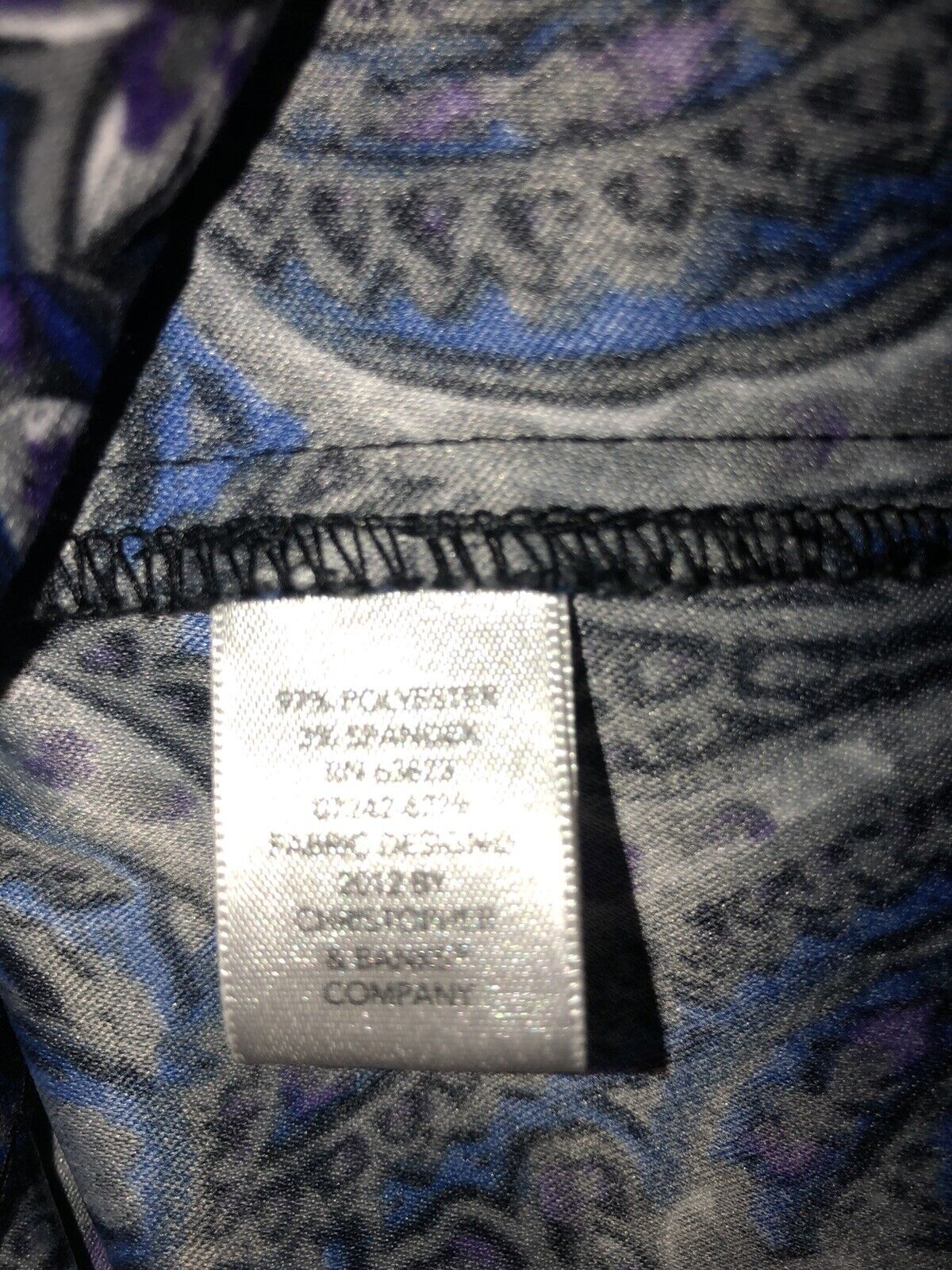 CHRISTOPHER & BANKS Paisley Unlined Jacket Zip Fr… - image 8